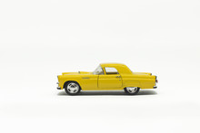 Used Yellow American Toy Car
