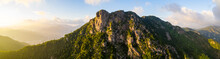 Panoramic Of Lion Rock Mountai...