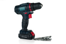 Cordless Drill Isolated On Whi...
