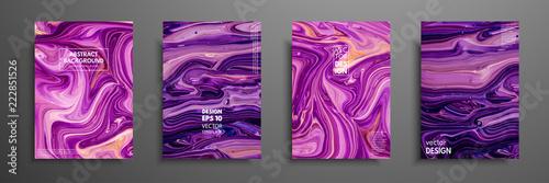 Vászonkép  Mixture of acrylic paints
