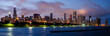 Panorama of the Chicago skyline