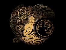 Buddha Tattoo Boho Style