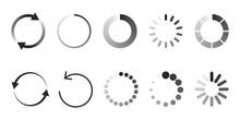 Load Icon. Circle Website Buff...