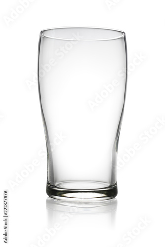 Fototapeta Empty drink glass