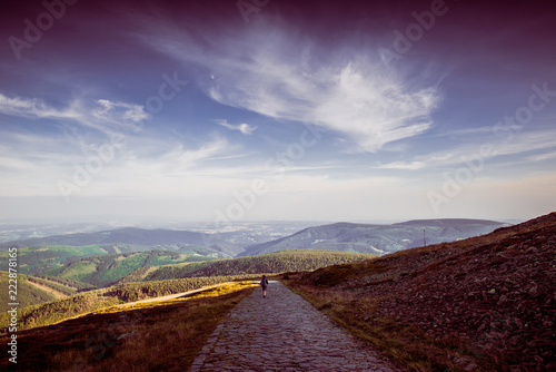 Fotografia  Mountains View in Karkonosze, Poland