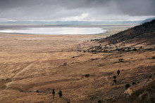 Ngorongoro Crater During The D...