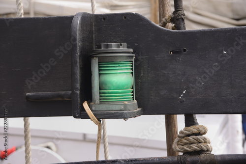 Photo  Ship's lantern