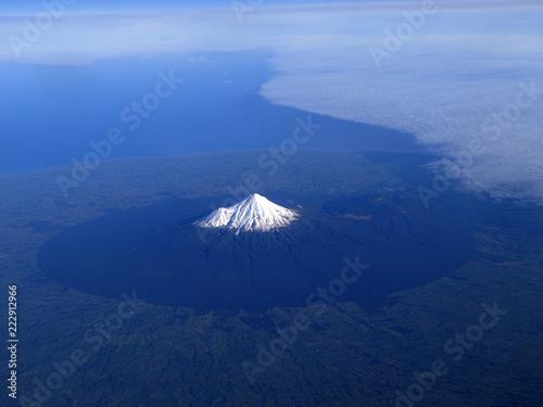 Fotografie, Obraz  Mount Taranaki or Mount Egmont of New Zealand