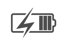 Battery Charge Icon, Vector El...