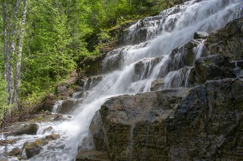 Poster Watervallen Waterfall View