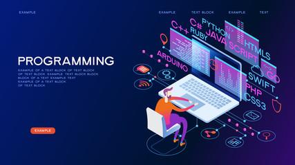 Programming web banner