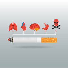 World No Tobacco Concept Stop ...