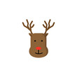 deer icon. Element of colored Christmas holiday icon for mobile concept and web apps. Thin line deer icon can be used for web and mobile