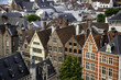 canvas print picture - Panoramic view of the city of Ghent