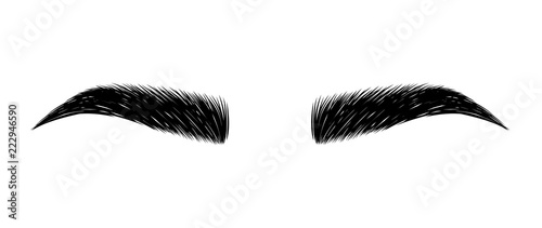 eyebrow perfectly shaped Fototapeta
