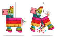 Mexican Pinata Horse With Cand...