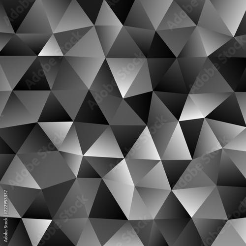 Dark grey retro geometrical...