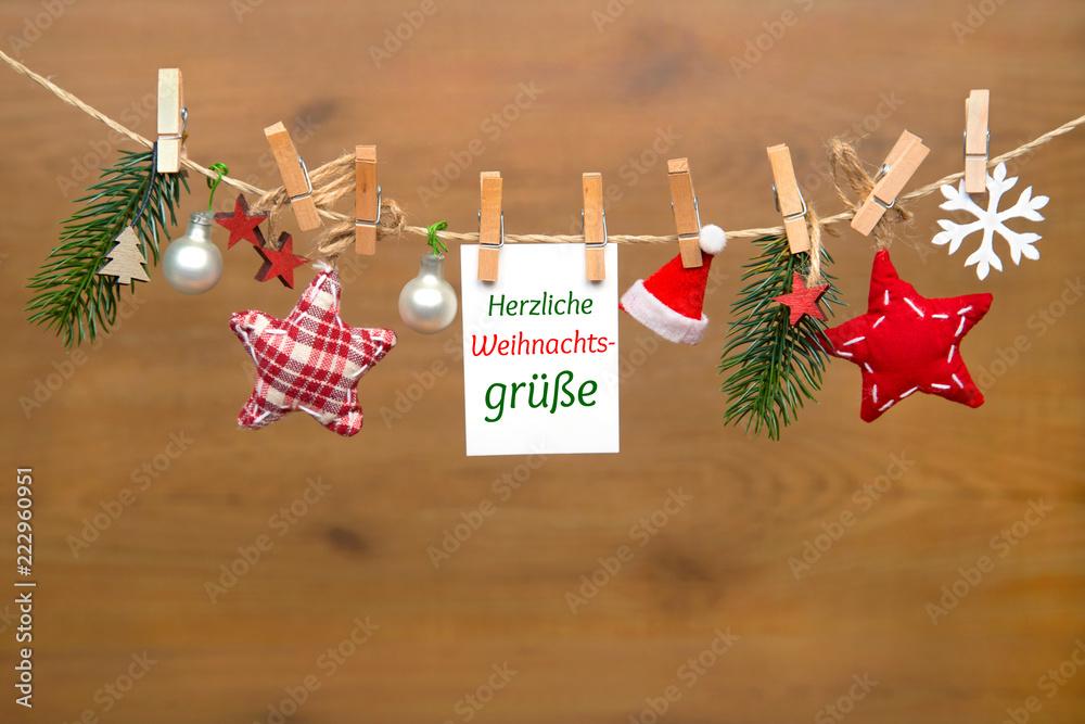 Herzliche Weihnachtswünsche.Gamesageddon Stock Weihnachtskarte Herzliche Weihnachtsgrüße