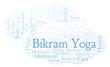 Bikram Yoga word cloud.