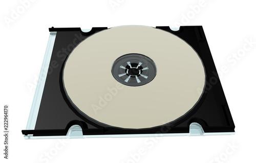 Fotografía  Bunt schimmernde Datenspeicher DVD
