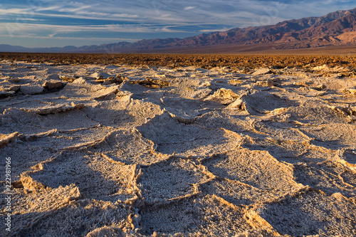 Badwater basin, Death Valley, California, USA.