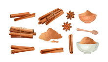 Cinnamon Stick And Powder Set....