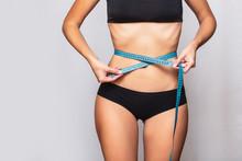 Female Body In Black Sports Li...