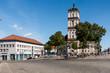 Marktplatz Neustrelitz mit Stadtkirche