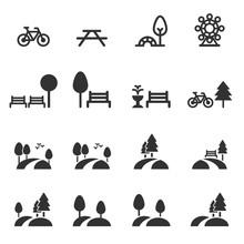 Park Icon Vector