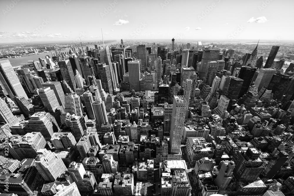 Fototapety, obrazy: Aerial view of Manhattan, New York City, USA