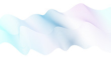 Vector Pastel Wave Pattern, St...