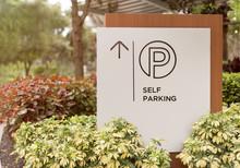 Self Parking Sign