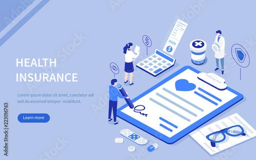 Fotomural health insurance