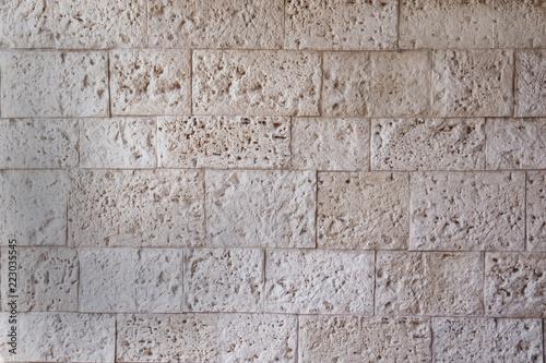 Fotografie, Obraz  textura de piedra en la pared