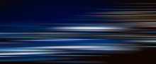 Abstract Colorful Light Trails In The Dark Background