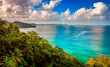 canvas print picture - Grand Mal Bay. Located north of the capital St George's in the caribbean island of Grenada.