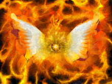 Flaming Eye Of God