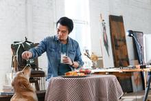 Artists In The Breakfast