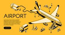 Airport And Airplane Preparati...