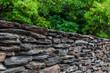 Kamienne ogrodzenie domu, Sopot