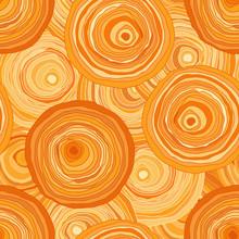 Circles Contour Orange