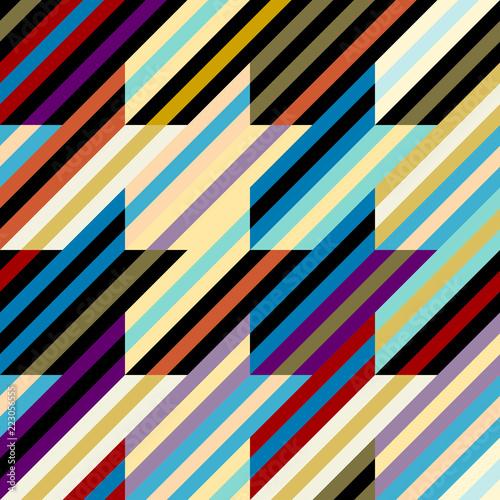 Photo  Seamless geometric pattern