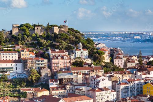 Spoed Foto op Canvas Palermo Lisbonne Alfama Portugal