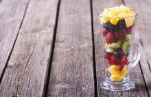 Fresh Fruit And Berries Salad