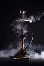 Trendy Hookah With Smoke