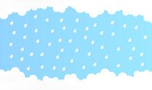 Abstract Cloud With Rain, Rain...