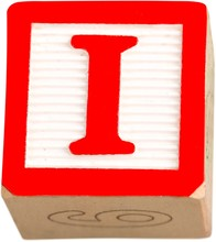 Wooden Letter Block With Lette...