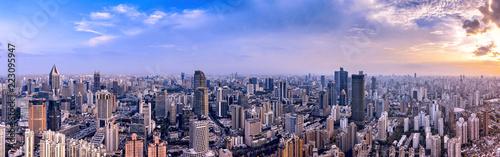 Shanghai urban construction, landscape