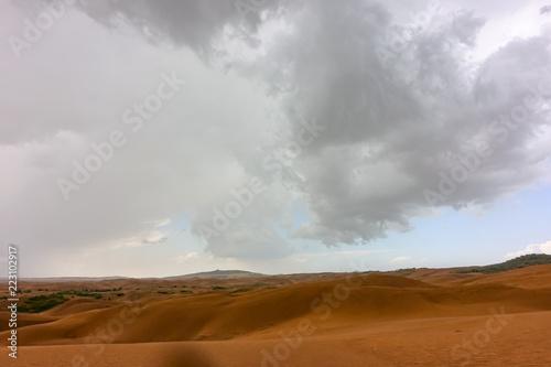 Cadres-photo bureau Desert de sable Dune in inner mongolia