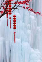 Hebei Chengde Frozen Waterfalls